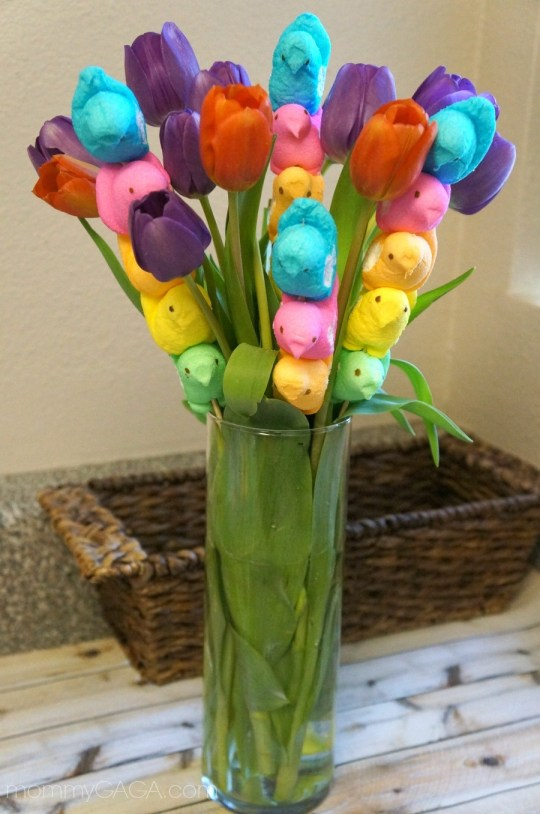 Easter PEEPS® Flower Bouquet Centerpiece