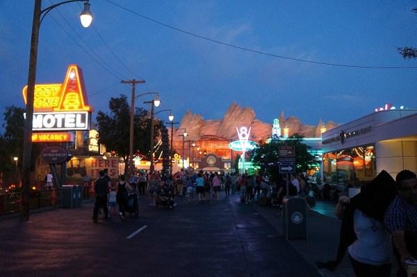 Entrance To Carsland, Disney's California Adventure Park