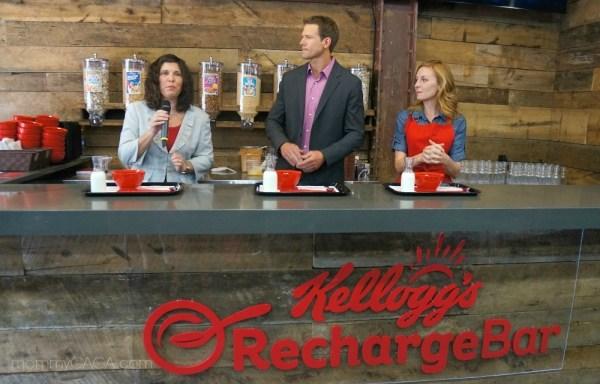 Kellogg's Recharge Bar Spokespeople