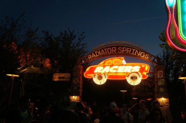Radiator Springs Racers, Carsland, Disney's California Adventure