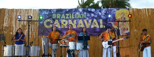 Summer Brazilian Carnaval at The Bahia Hotel on Mission Bay