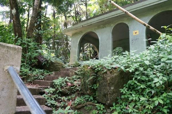 Picnic Shelter on La Mina trailhead, Puerto Rico