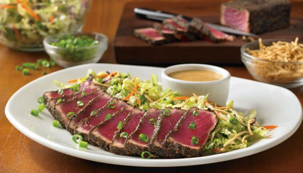 Outback seared-peppered-ahi