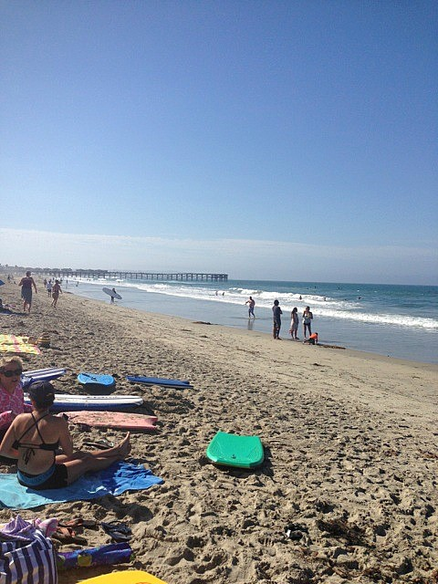San Diego in September, Pacific beach