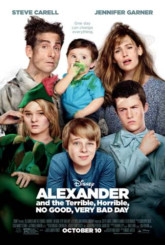 Alexander and the terrible, horrible no good very bad day movie