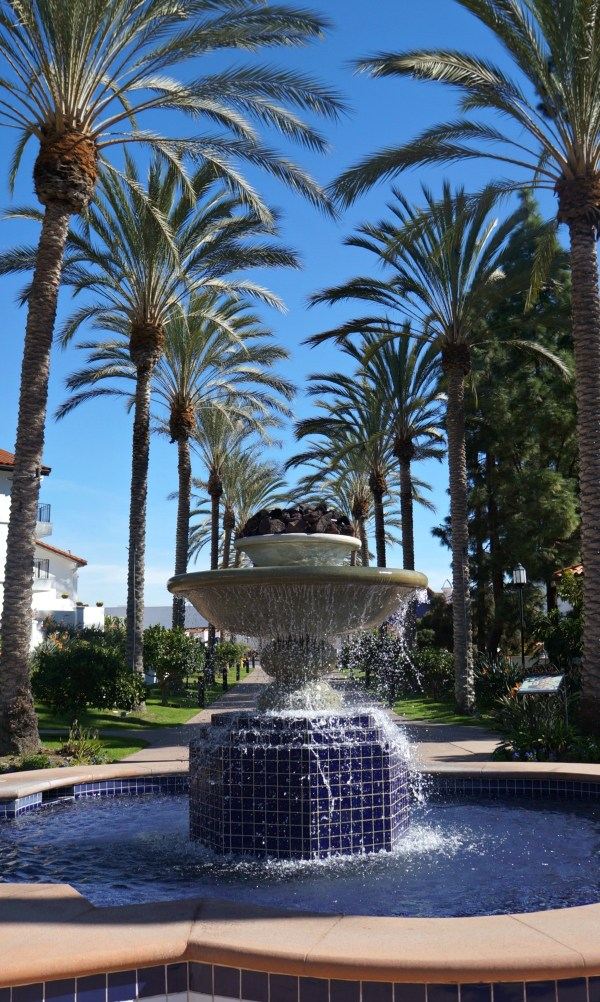 Fountain at the Omni La Costa Resort, Carlsbad, California