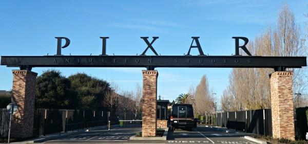Entrance to Pixar Animation Studios, Emeryville, CA