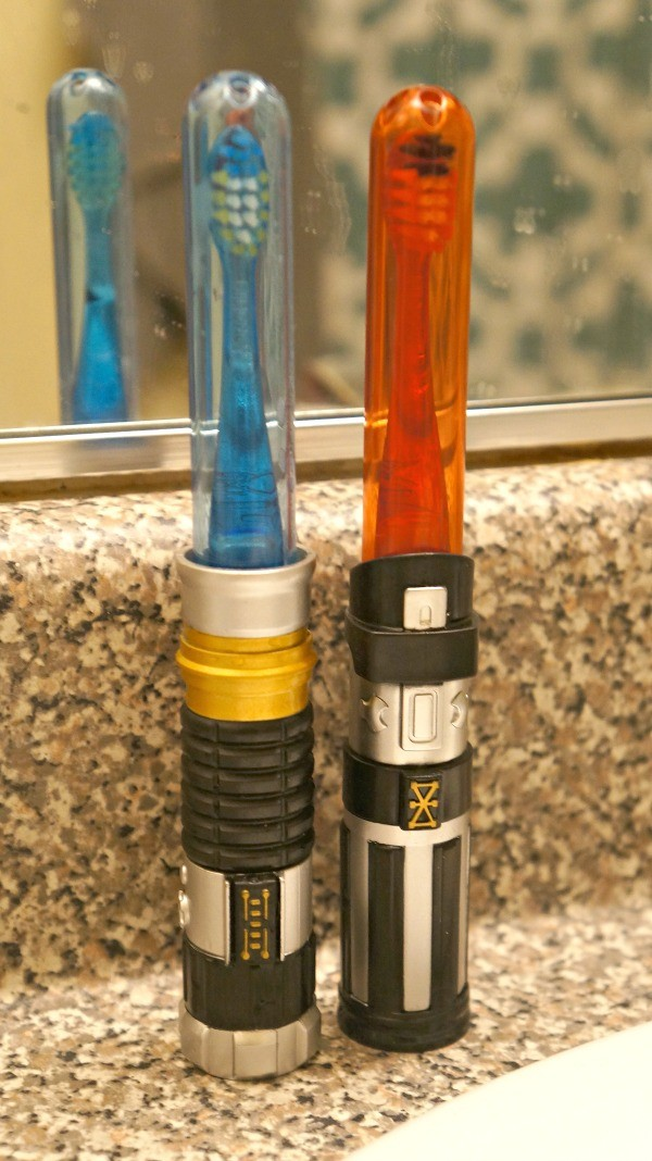 Firefly® Toothbrushes, featuring Star Wars® Light Sabers