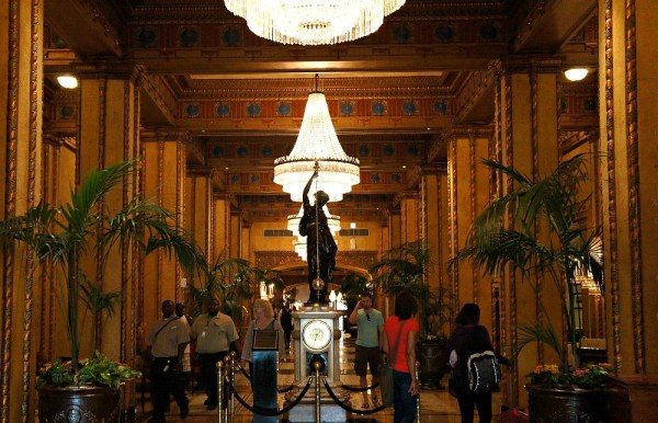 The Roosevelt Hotel, New Orleans, In The Lobby