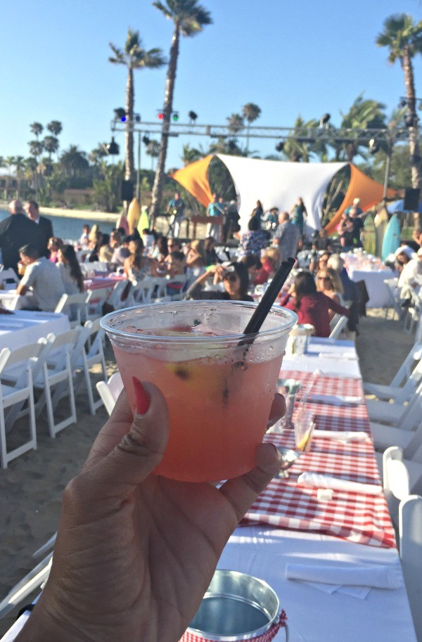 Bahia California Dreaming Beach party of the Decades, welcome cocktail