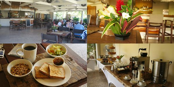 The Sunset Resort, daily complimentary breakfast at The Anchorage Restaurant