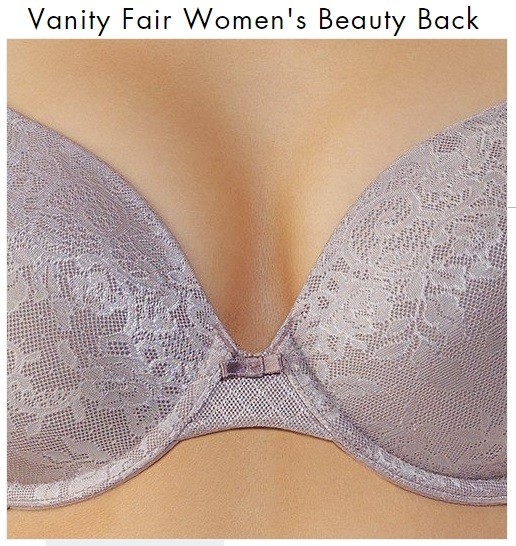 Vanity Fair Women's Lace Underwire Beauty Back Bra