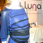 Luna bamboo nursing top