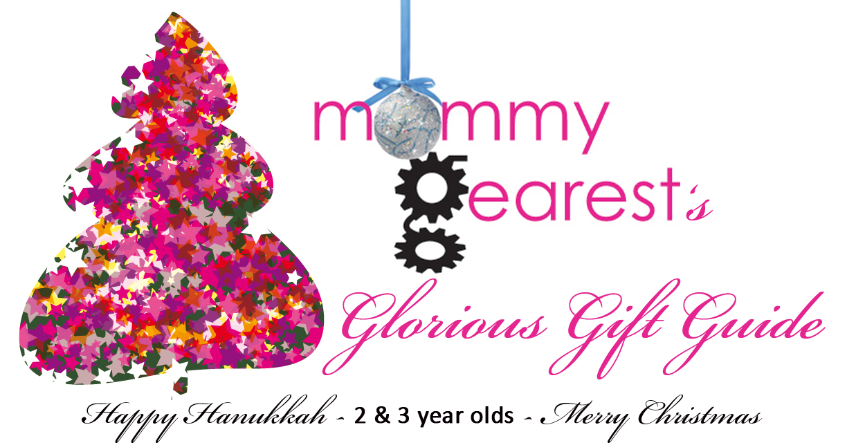 Mommy Gearest Holiday Gift Guide ages 2 & 3