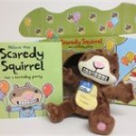 Scaredy Squirrel Has a Birthday Party Book, Puppet & Theatre