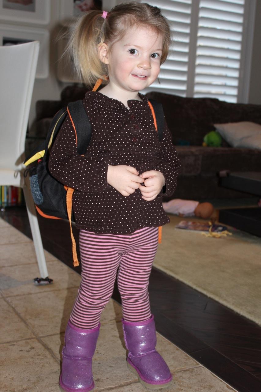Skip Hop kids' backpack & Ugg boots for kids