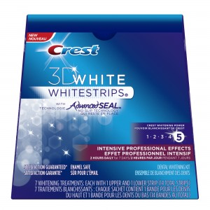 Crest 3D White Whitstrips Intensive Professional Effects