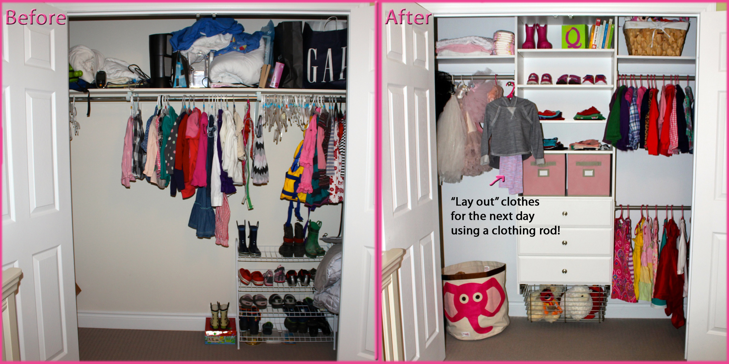 Closet Organization On Any Budget Mommy Gearest