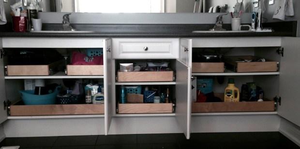 Gliding Shelf Solutions sliding shelves