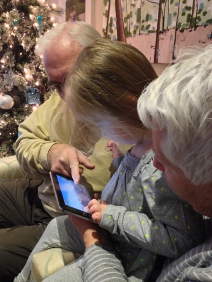 Tablet for an older generation