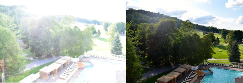 Horseshoe Resort balcony photo