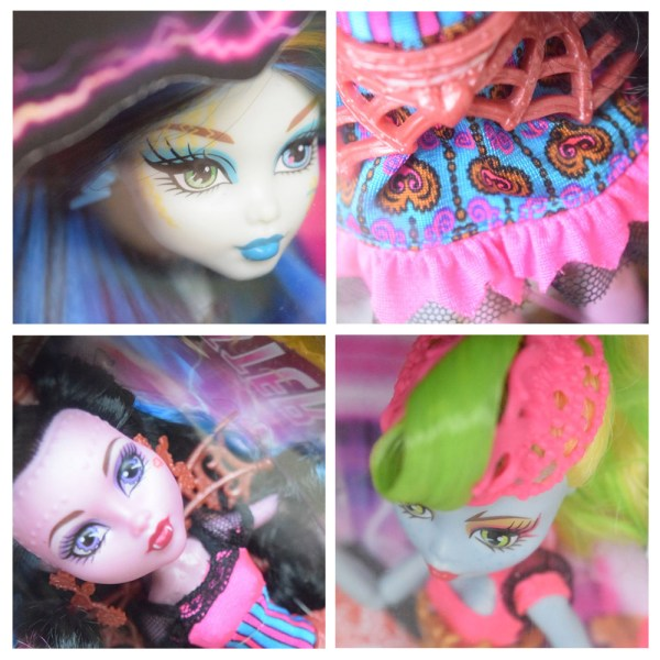 Monster High Freaky Fusion collage