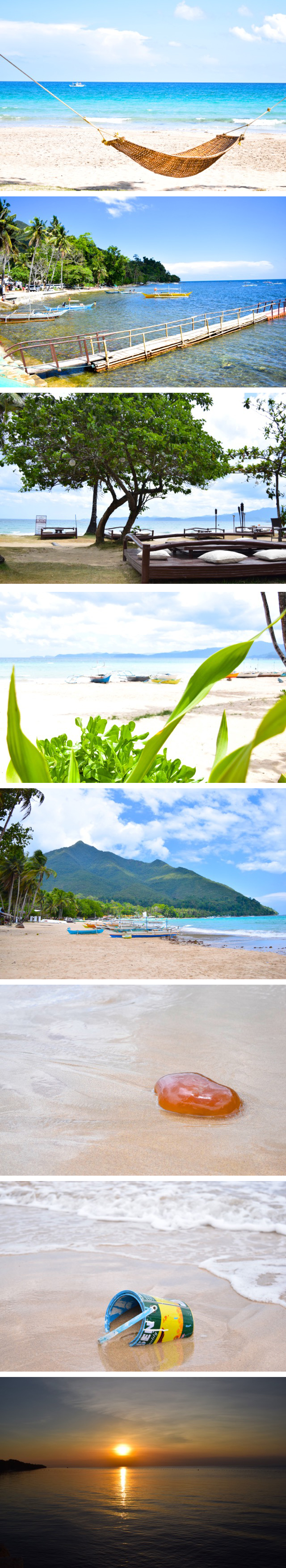 Beaches, sunsets and water (The Philippines)