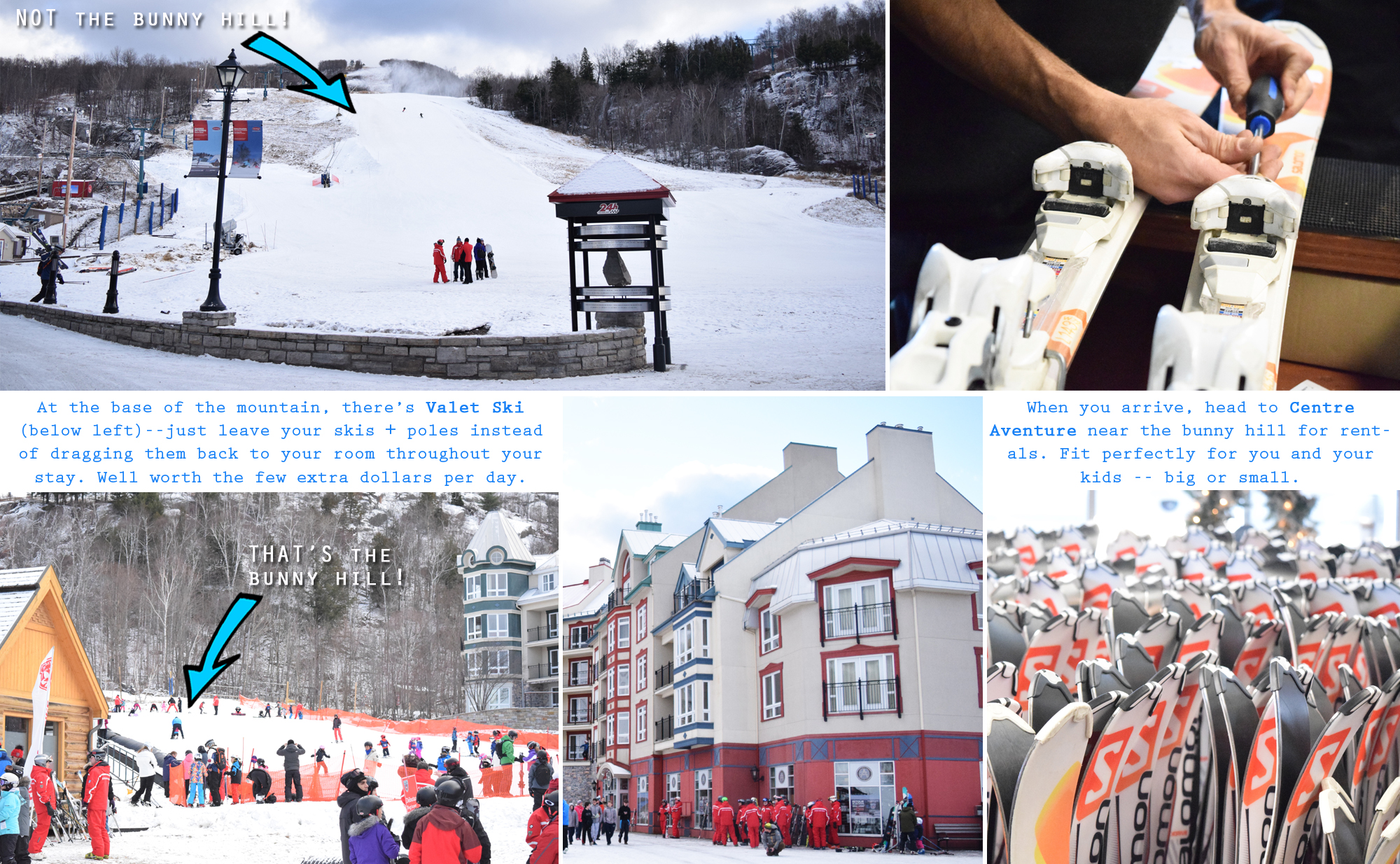 Mont Tremblant - skiing