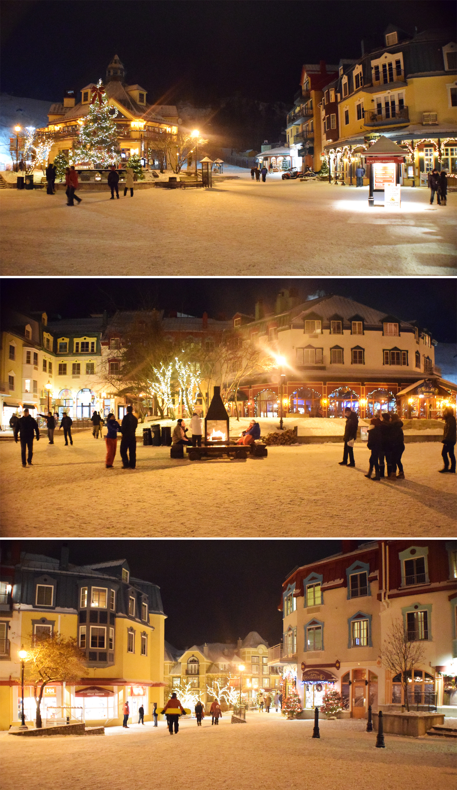 Mont Tremblant after dark