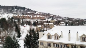 Mont-Tremblant's view by cabriolet.