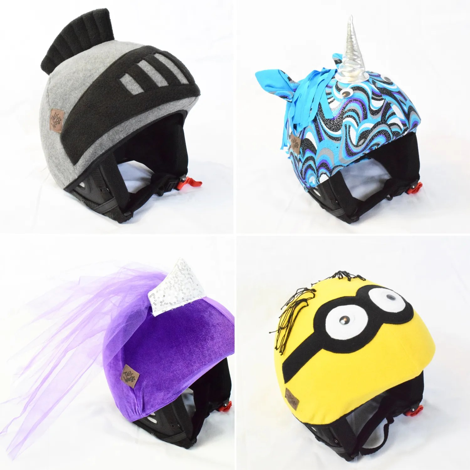 Tail-Wags helmet covers