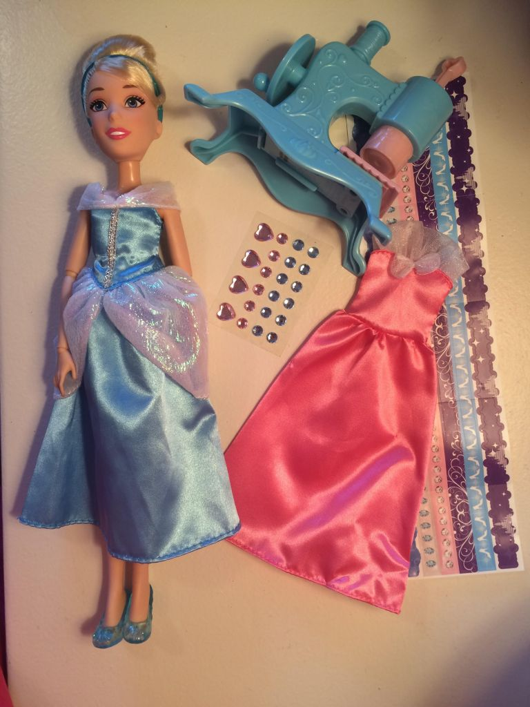 Stamp and Design Cinderella