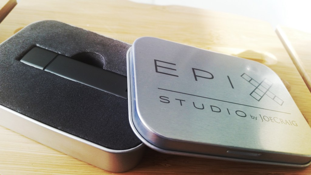 USB packaging of EPIX Studio images