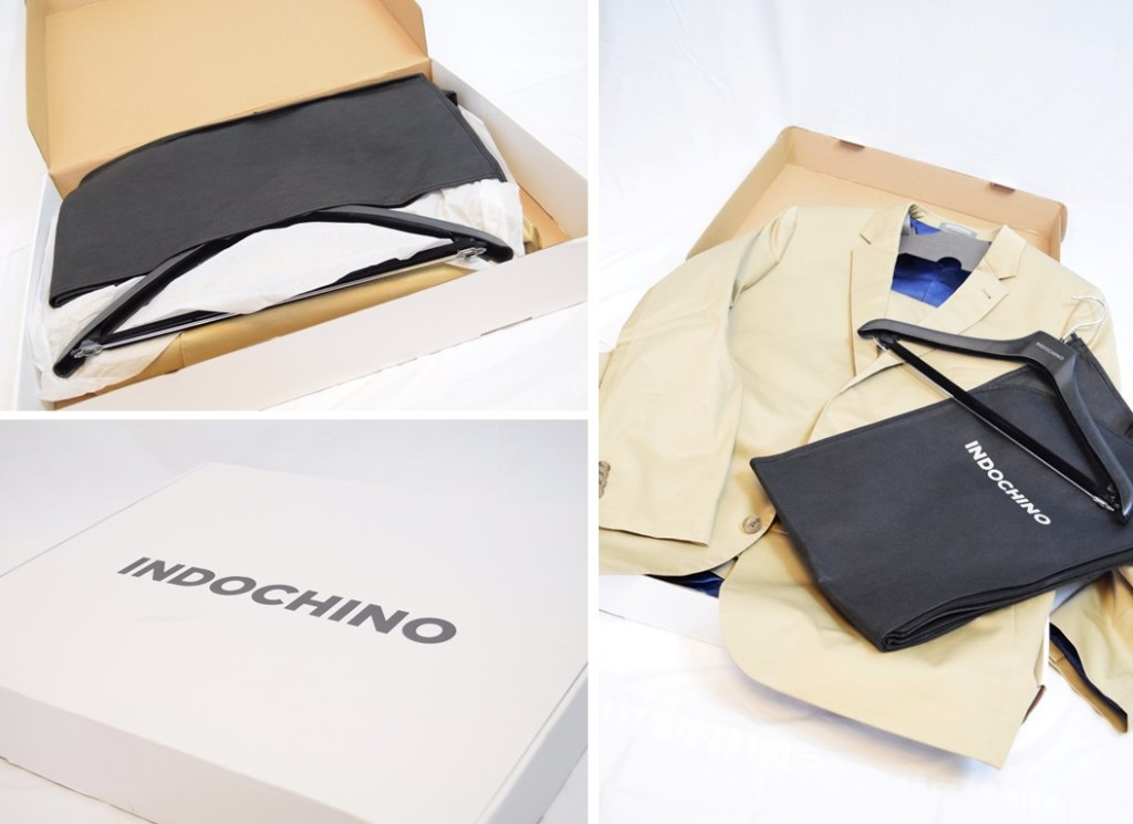 How does Indochino delivery your suit?