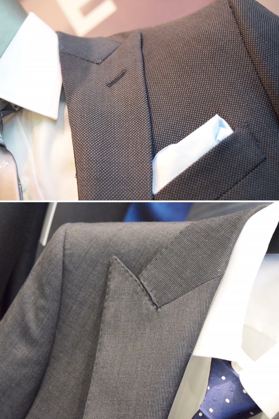 Personalizing a custom suit