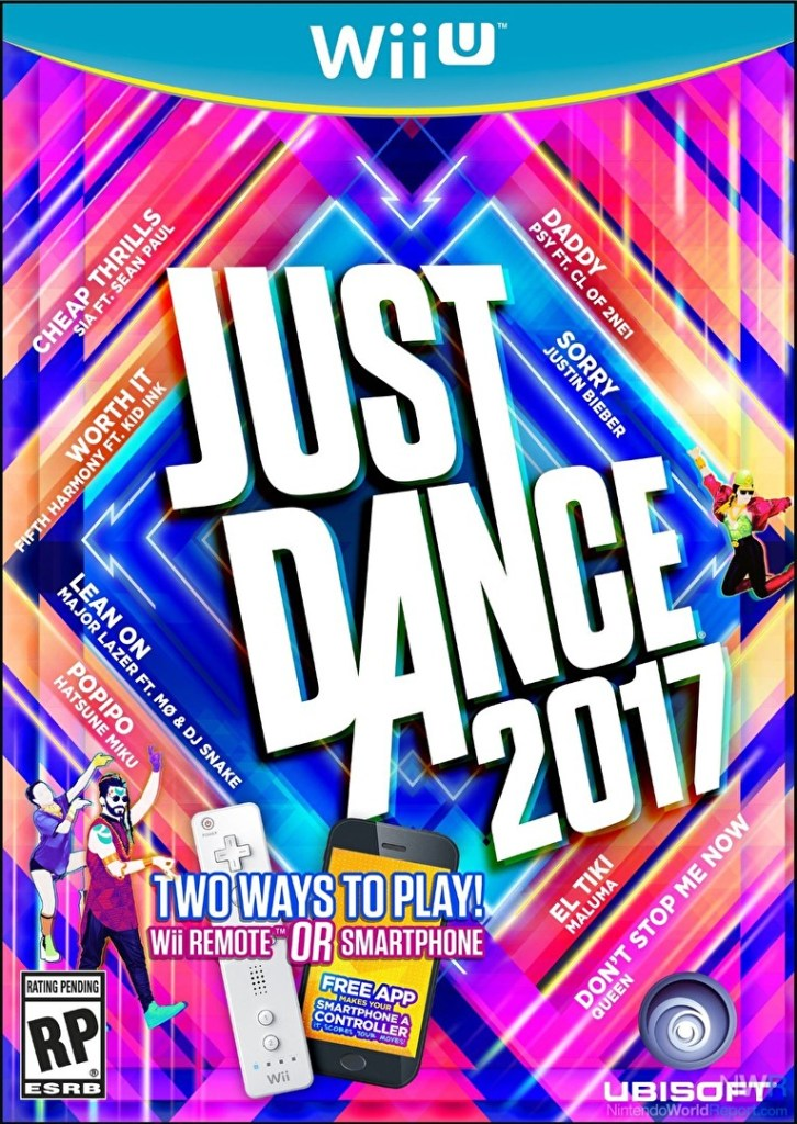 Just Dance 2017 for WiiU