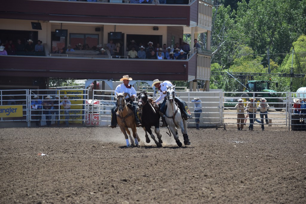 Wranglers at Calgary Stampede