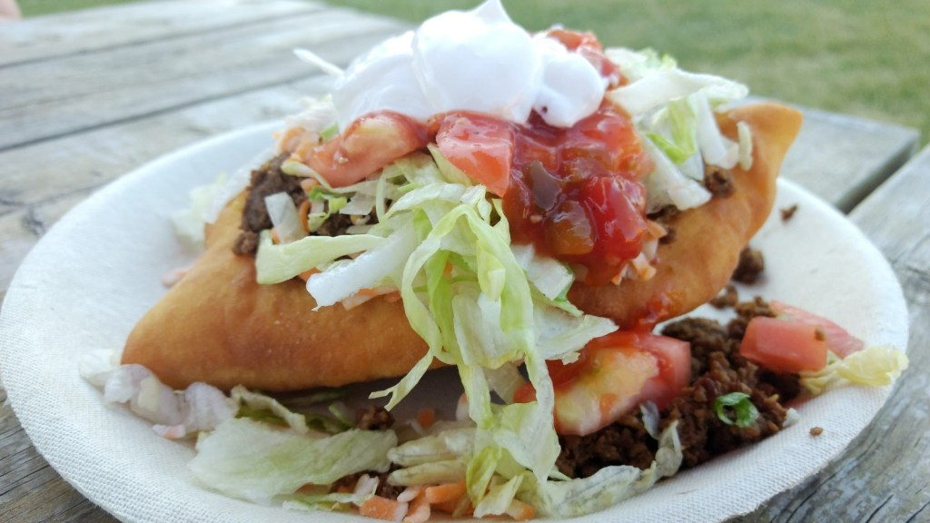 bannock taco