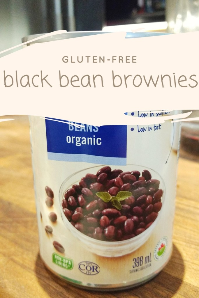 How to make healthy brownies -- with black beans! These are gluten- and dairy-free. And delish.