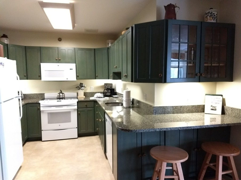 Kitchens at Smugglers' Notch condos