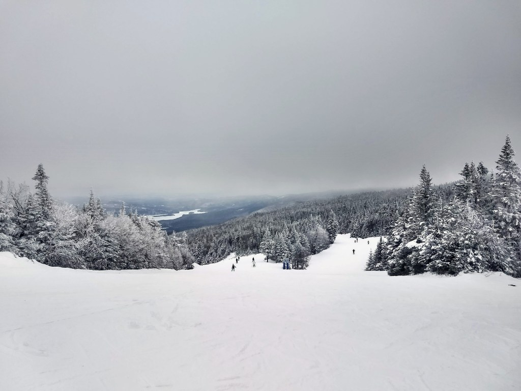 Skiing in Tremblant