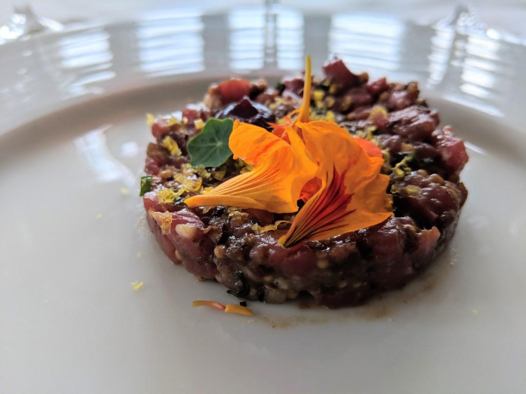 tasting menu bruce hotel stratford