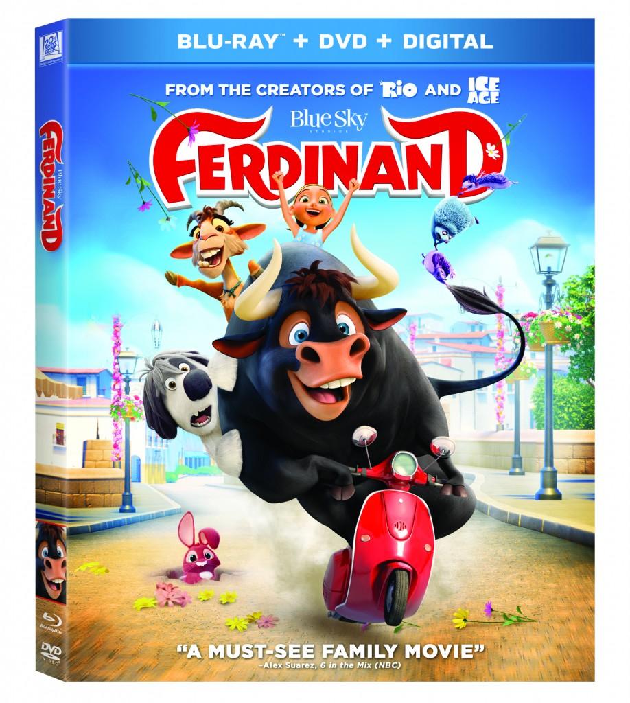 ferdinand on dvd