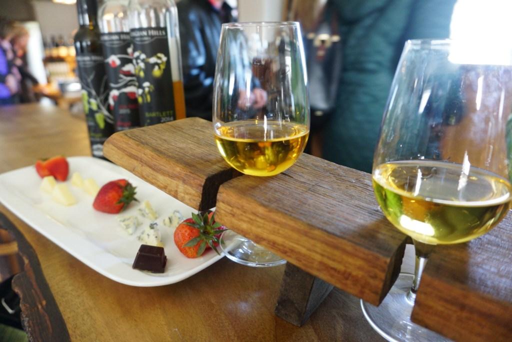Georgian Hills Vineyard tasting