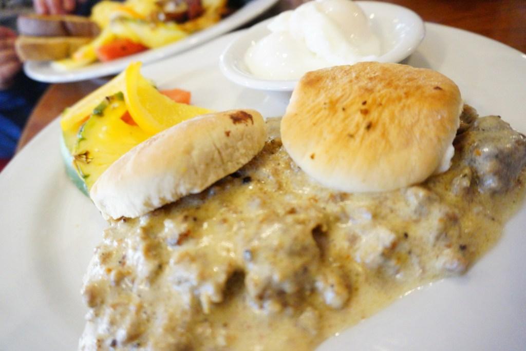 The Cabin Grill breakfast