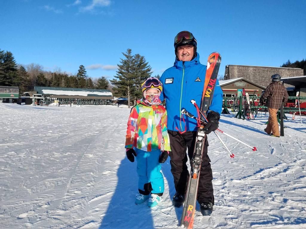 best ski instructor at gore