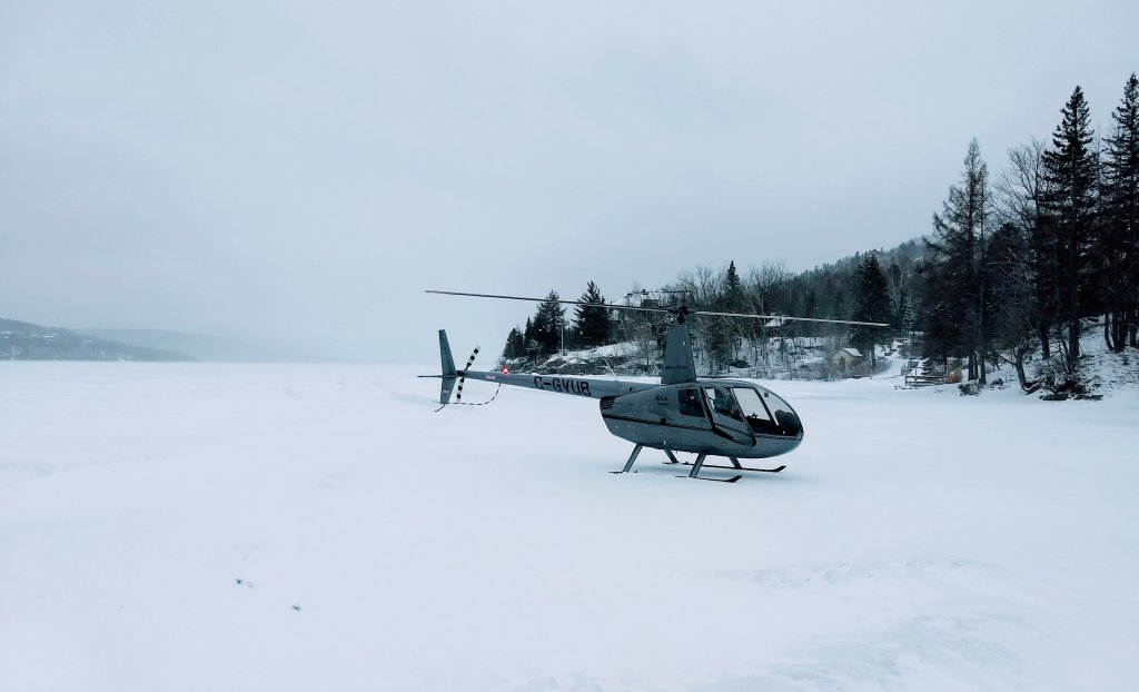 helicopter tremblant