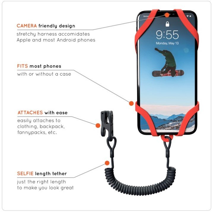 koala phone harness