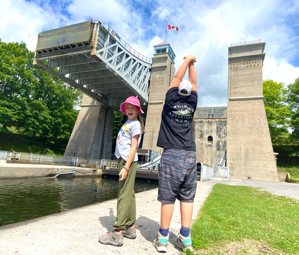 Peterborough Lift Lock 21
