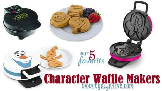 Top Character Waffle Makers